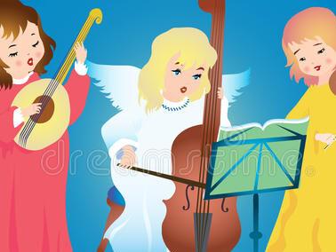 """""""Gli angeli della musica"""""""